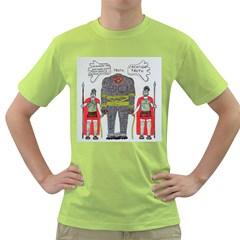 Big Foot 2 Romans Men s T-shirt (Green)