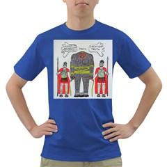 Big Foot 2 Romans Men s T-shirt (Colored)