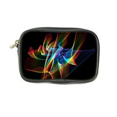 Aurora Ribbons, Abstract Rainbow Veils  Coin Purse