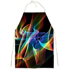 Aurora Ribbons, Abstract Rainbow Veils  Apron