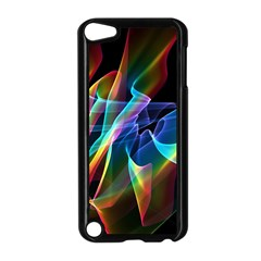 Aurora Ribbons, Abstract Rainbow Veils  Apple iPod Touch 5 Case (Black)
