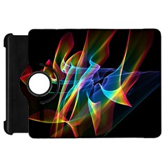 Aurora Ribbons, Abstract Rainbow Veils  Kindle Fire HD 7  (1st Gen) Flip 360 Case