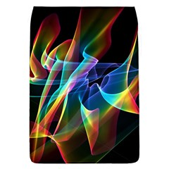 Aurora Ribbons, Abstract Rainbow Veils  Removable Flap Cover (large)