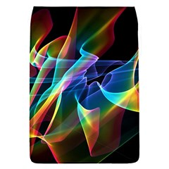 Aurora Ribbons, Abstract Rainbow Veils  Removable Flap Cover (Small)