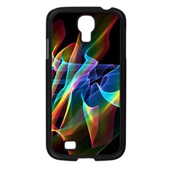 Aurora Ribbons, Abstract Rainbow Veils  Samsung Galaxy S4 I9500/ I9505 Case (Black)