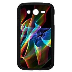 Aurora Ribbons, Abstract Rainbow Veils  Samsung Galaxy Grand DUOS I9082 Case (Black)