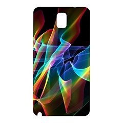 Aurora Ribbons, Abstract Rainbow Veils  Samsung Galaxy Note 3 N9005 Hardshell Back Case