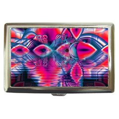 Cosmic Heart Of Fire, Abstract Crystal Palace Cigarette Money Case