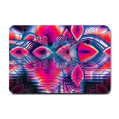 Cosmic Heart of Fire, Abstract Crystal Palace Small Door Mat