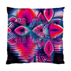 Cosmic Heart Of Fire, Abstract Crystal Palace Cushion Case (two Sided)