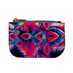 Cosmic Heart of Fire, Abstract Crystal Palace Coin Change Purse