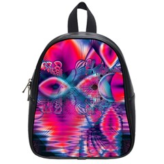 Cosmic Heart of Fire, Abstract Crystal Palace School Bag (Small)
