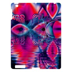 Cosmic Heart of Fire, Abstract Crystal Palace Apple iPad 3/4 Hardshell Case