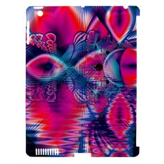 Cosmic Heart Of Fire, Abstract Crystal Palace Apple Ipad 3/4 Hardshell Case (compatible With Smart Cover)
