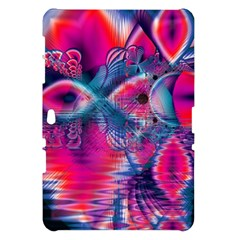 Cosmic Heart of Fire, Abstract Crystal Palace Samsung Galaxy Tab 10.1  P7500 Hardshell Case