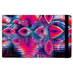 Cosmic Heart of Fire, Abstract Crystal Palace Apple iPad 2 Flip Case