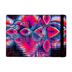 Cosmic Heart of Fire, Abstract Crystal Palace Apple iPad Mini Flip Case