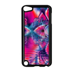 Cosmic Heart of Fire, Abstract Crystal Palace Apple iPod Touch 5 Case (Black)