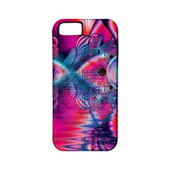 Cosmic Heart Of Fire, Abstract Crystal Palace Apple Iphone 5 Classic Hardshell Case (pc+silicone)