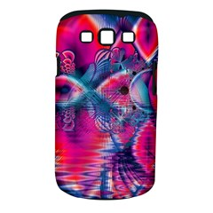 Cosmic Heart of Fire, Abstract Crystal Palace Samsung Galaxy S III Classic Hardshell Case (PC+Silicone)