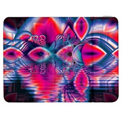 Cosmic Heart of Fire, Abstract Crystal Palace Samsung Galaxy Tab 7  P1000 Flip Case