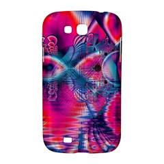 Cosmic Heart of Fire, Abstract Crystal Palace Samsung Galaxy Grand GT-I9128 Hardshell Case