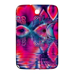 Cosmic Heart Of Fire, Abstract Crystal Palace Samsung Galaxy Note 8 0 N5100 Hardshell Case