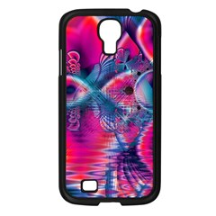 Cosmic Heart Of Fire, Abstract Crystal Palace Samsung Galaxy S4 I9500/ I9505 Case (black)