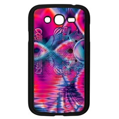 Cosmic Heart of Fire, Abstract Crystal Palace Samsung Galaxy Grand DUOS I9082 Case (Black)