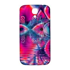 Cosmic Heart of Fire, Abstract Crystal Palace Samsung Galaxy S4 I9500/I9505  Hardshell Back Case
