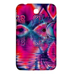 Cosmic Heart of Fire, Abstract Crystal Palace Samsung Galaxy Tab 3 (7 ) P3200 Hardshell Case