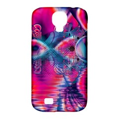 Cosmic Heart of Fire, Abstract Crystal Palace Samsung Galaxy S4 Classic Hardshell Case (PC+Silicone)