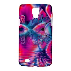 Cosmic Heart of Fire, Abstract Crystal Palace Samsung Galaxy S4 Active (I9295) Hardshell Case
