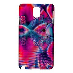 Cosmic Heart of Fire, Abstract Crystal Palace Samsung Galaxy Note 3 N9005 Hardshell Case