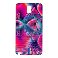 Cosmic Heart of Fire, Abstract Crystal Palace Samsung Galaxy Note 3 N9005 Hardshell Back Case