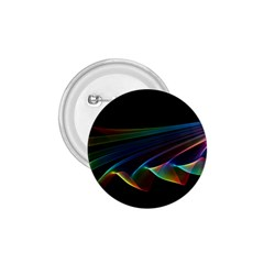 Flowing Fabric of Rainbow Light, Abstract  1.75  Button