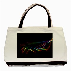 Flowing Fabric of Rainbow Light, Abstract  Classic Tote Bag
