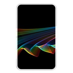 Flowing Fabric Of Rainbow Light, Abstract  Memory Card Reader (rectangular)