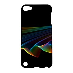 Flowing Fabric Of Rainbow Light, Abstract  Apple Ipod Touch 5 Hardshell Case
