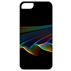 Flowing Fabric Of Rainbow Light, Abstract  Apple Iphone 5 Classic Hardshell Case