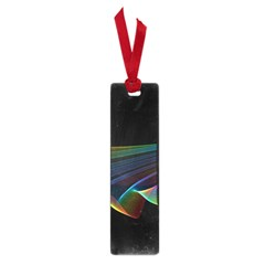 Flowing Fabric of Rainbow Light, Abstract  Small Bookmark