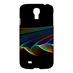 Flowing Fabric Of Rainbow Light, Abstract  Samsung Galaxy S4 I9500/i9505 Hardshell Case