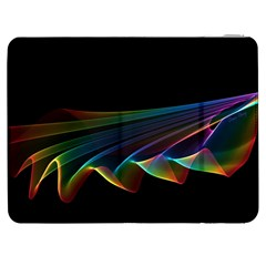 Flowing Fabric Of Rainbow Light, Abstract  Samsung Galaxy Tab 7  P1000 Flip Case