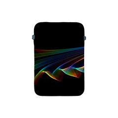 Flowing Fabric of Rainbow Light, Abstract  Apple iPad Mini Protective Sleeve