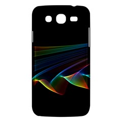 Flowing Fabric of Rainbow Light, Abstract  Samsung Galaxy Mega 5.8 I9152 Hardshell Case