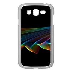 Flowing Fabric of Rainbow Light, Abstract  Samsung Galaxy Grand DUOS I9082 Case (White)