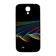 Flowing Fabric of Rainbow Light, Abstract  Samsung Galaxy S4 I9500/I9505  Hardshell Back Case