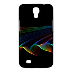 Flowing Fabric of Rainbow Light, Abstract  Samsung Galaxy Mega 6.3  I9200 Hardshell Case