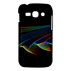 Flowing Fabric of Rainbow Light, Abstract  Samsung Galaxy Ace 3 S7272 Hardshell Case