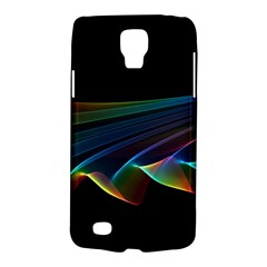 Flowing Fabric of Rainbow Light, Abstract  Samsung Galaxy S4 Active (I9295) Hardshell Case